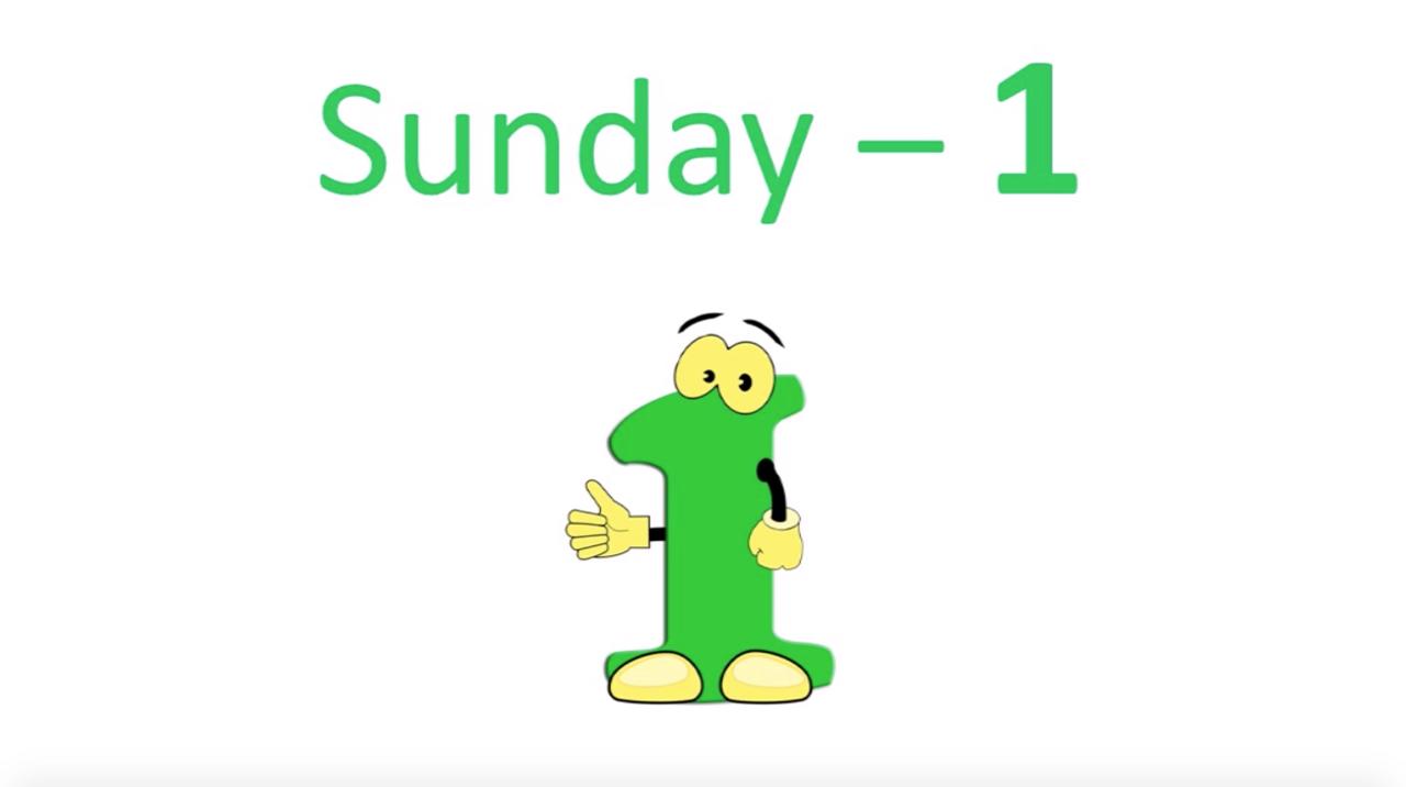 '7 DAYS' (Grades Pre K-3) ~ Curriculum Song Video (PLUS Bonus)