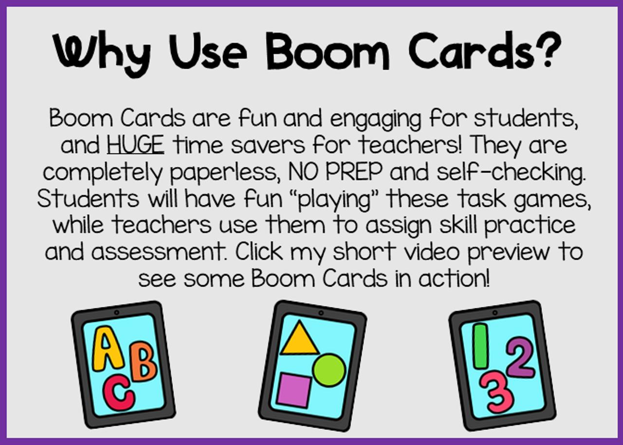 Letter Recognition Bundle | Digital Task Boom Cards