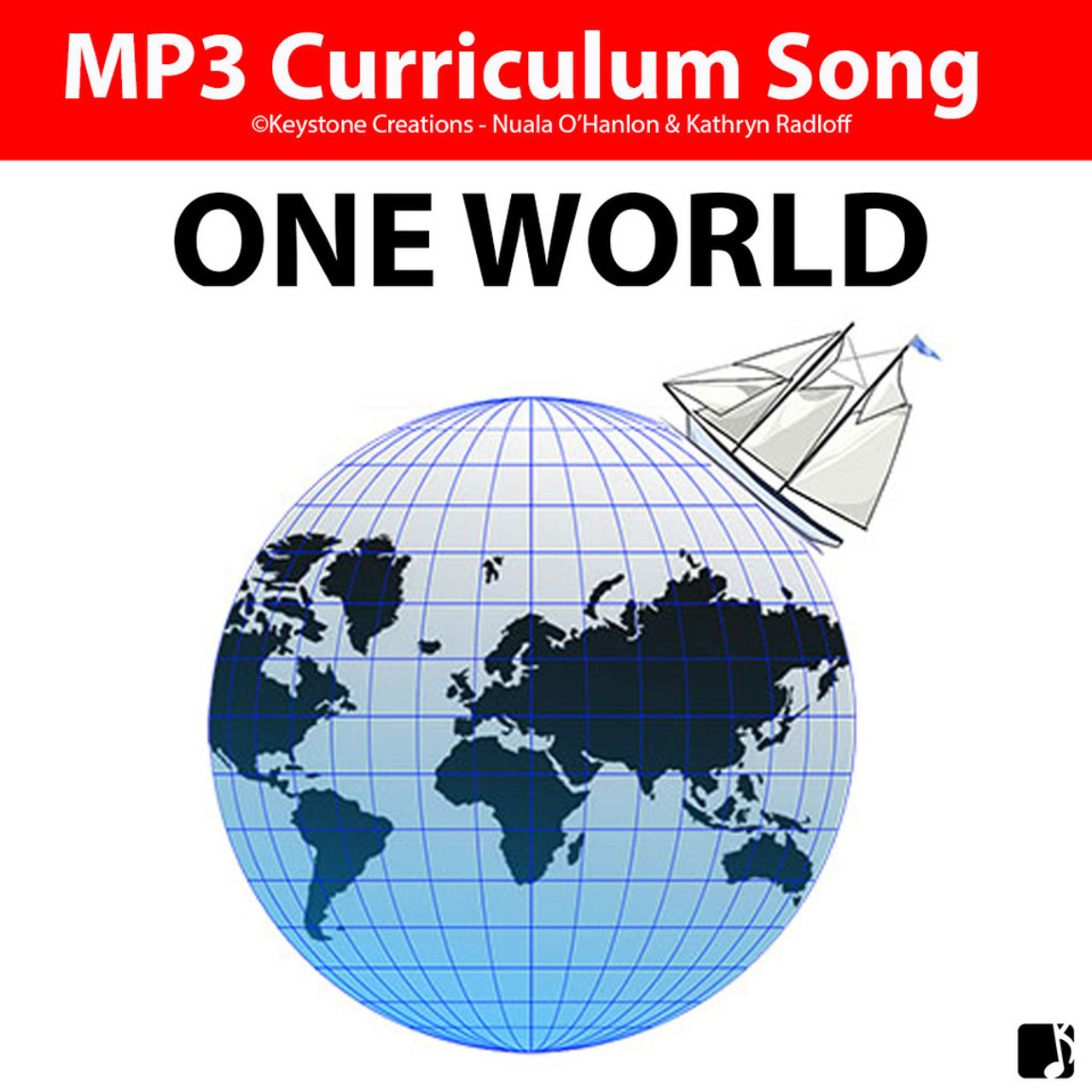 'ONE WORLD' (Grades K-7) ~ Curriculum Song MP3 & Lesson Materials