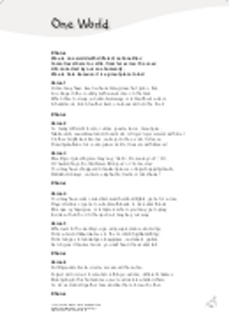 Lyric Sheet Image
