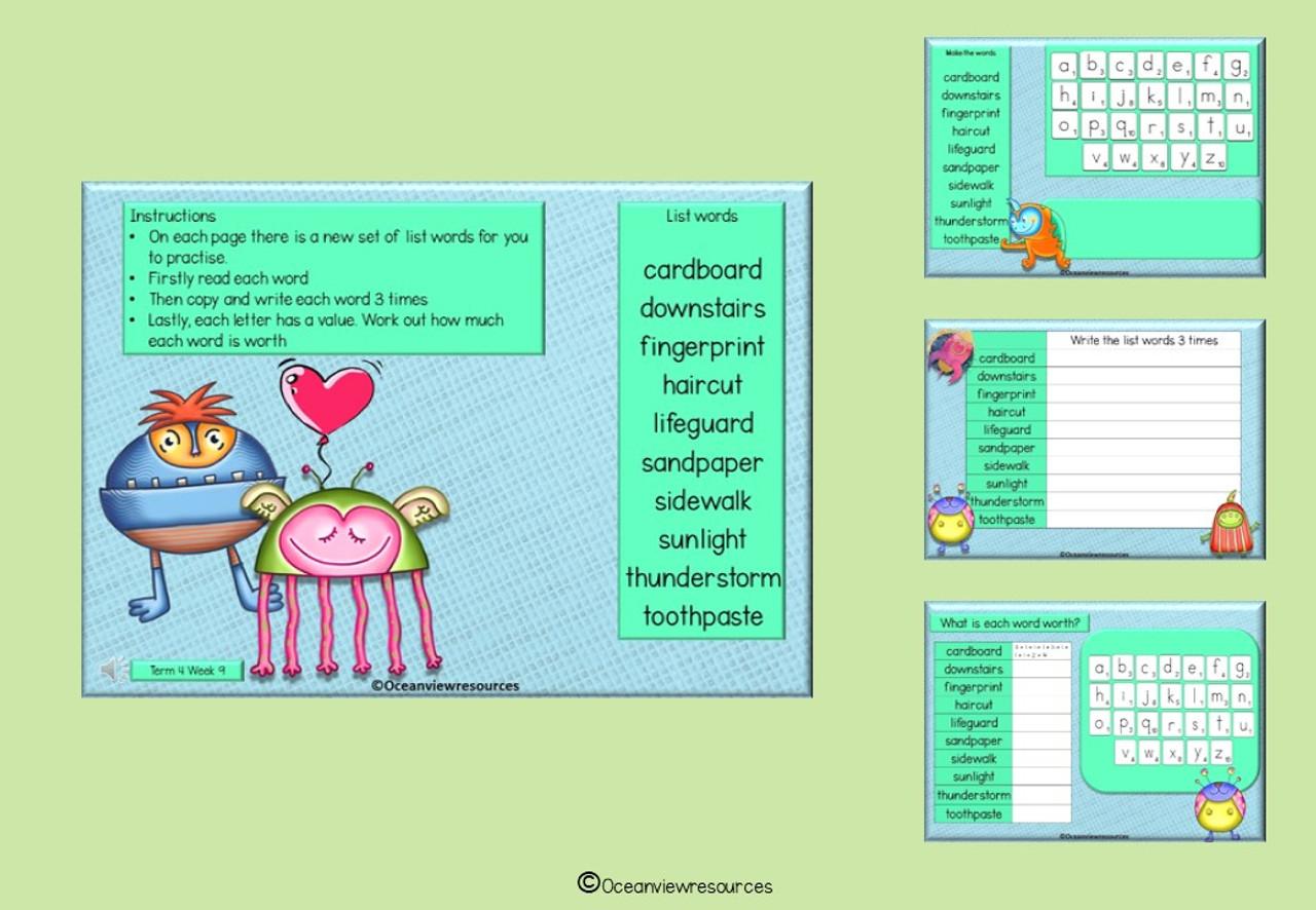 Spelling Term 4 Grade 4