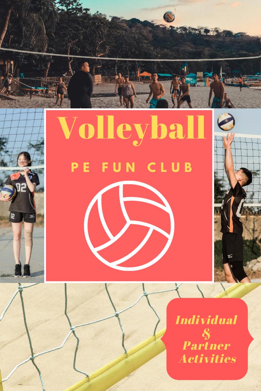 Volleyball Individual & Partner Skills & Drills (27 Videos)