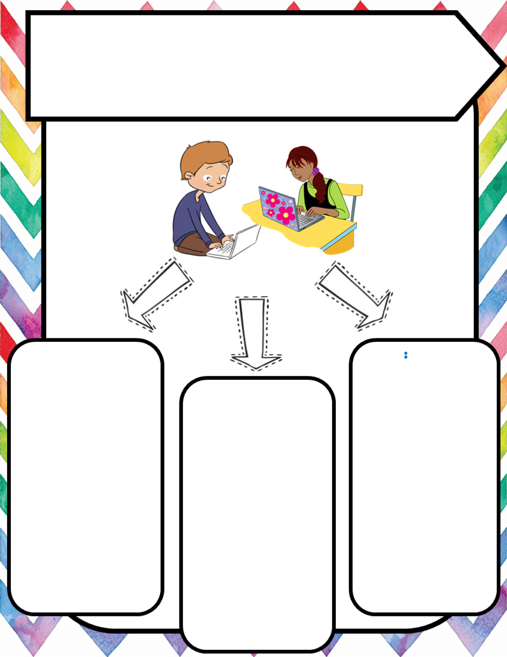 Remote Ready Learning Expectation Flyers (Editable)
