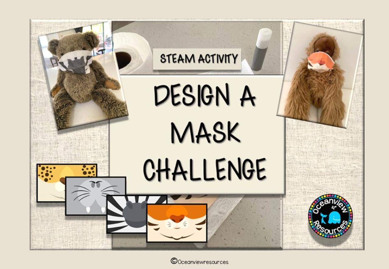 Design a Mask Challenge- ANIMALS