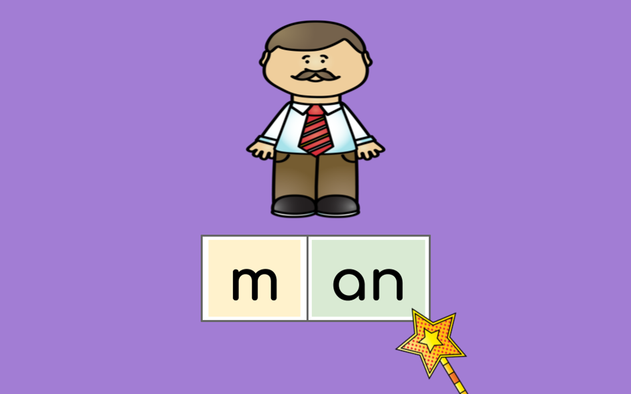 Distance Learning  -AM, -AN, -ALL Word Family Google Slides (Remote Ready Resource)