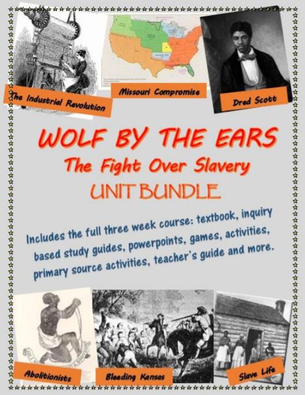 American Slavery, Civil War and Reconstruction 2 Unit Bundle, including text