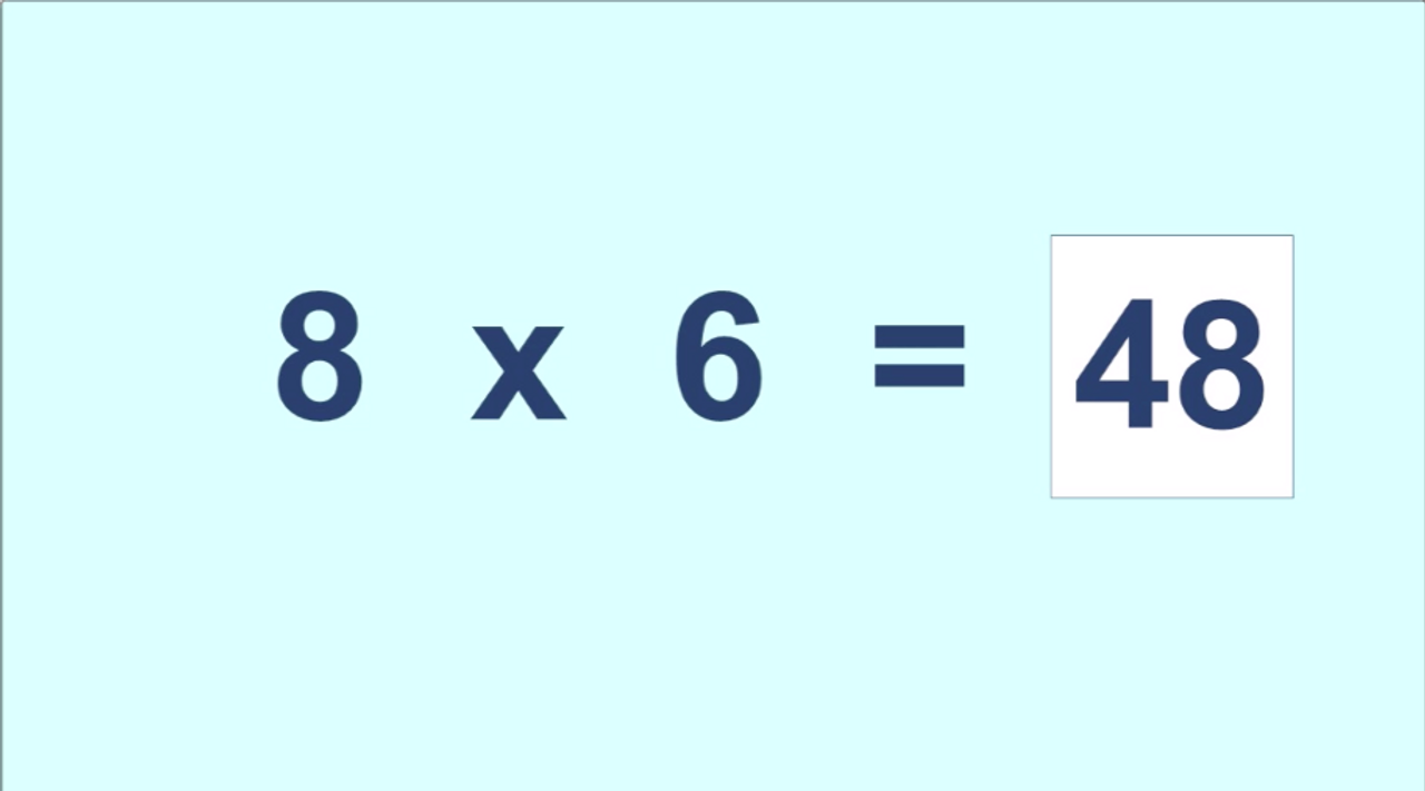 '6 TIMES TABLE' ~ Curriculum Song Video