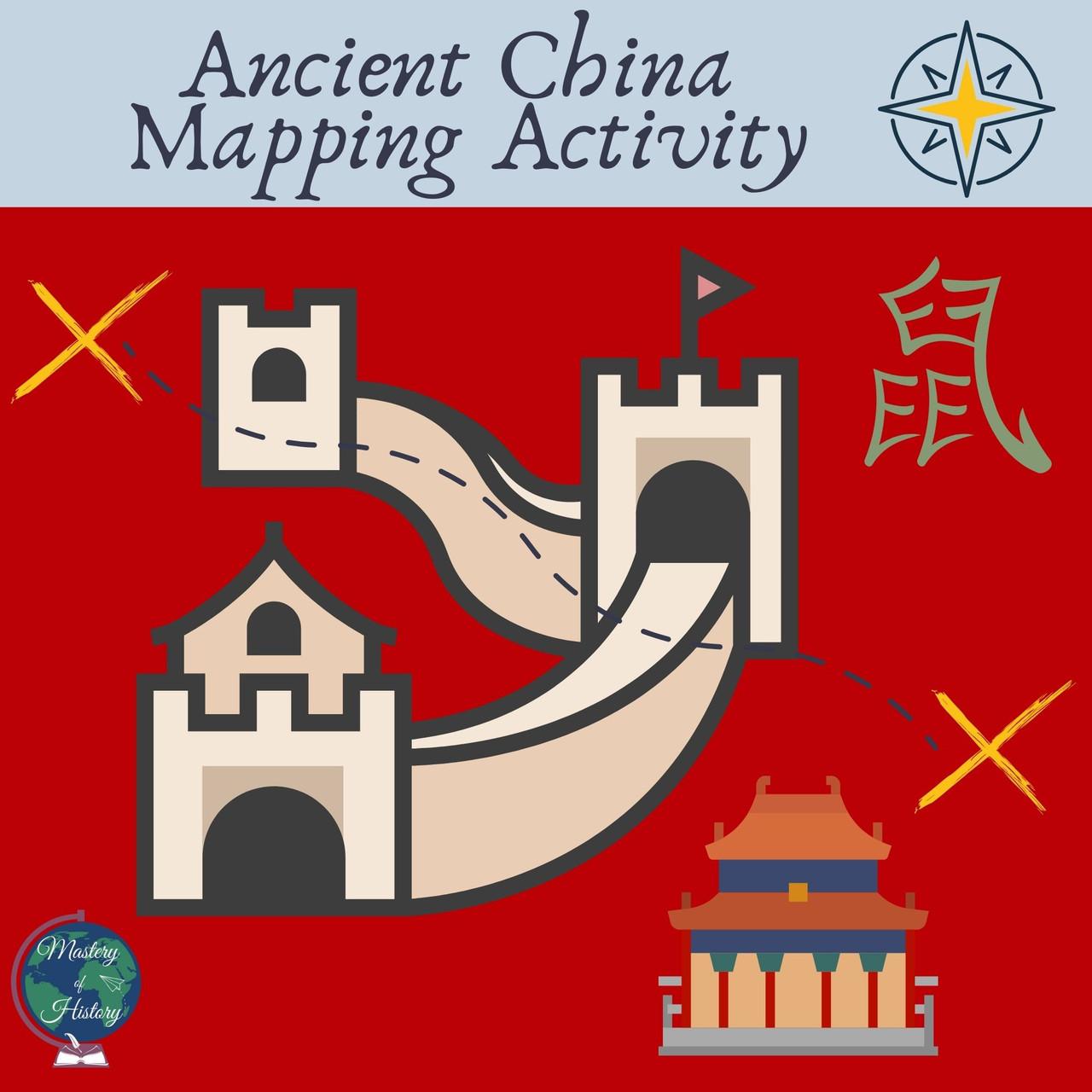 Ancient China Mapping Activity