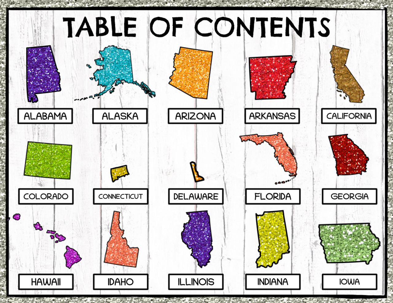 U.S. States Research Project for Google Classroom (Digital and Printable Version)