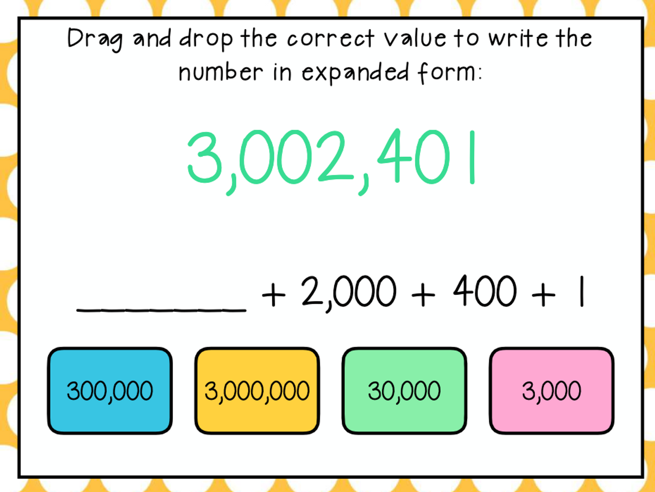 4th Grade Place Value, Number Forms, & Rounding Boom Cards for Distance Learning