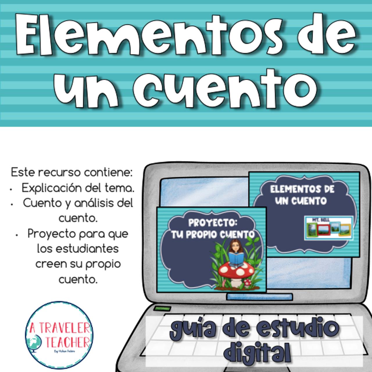 Elementos de un Cuento en español (Settings of a Story in Spanish)