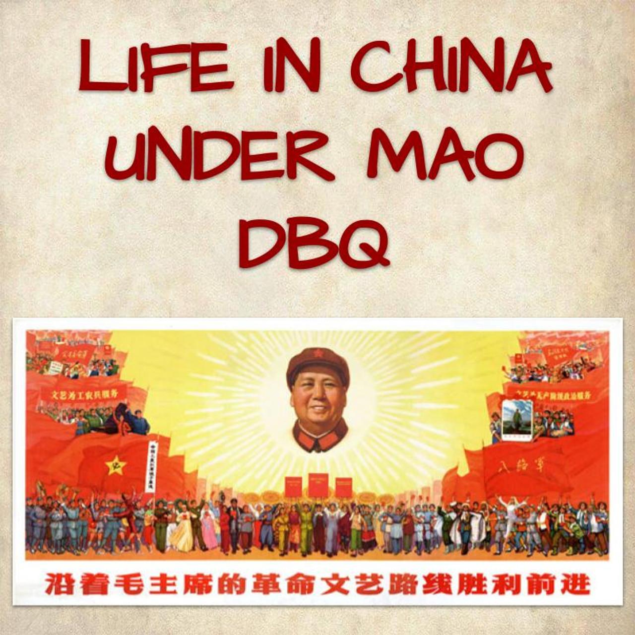 Life in China Under Mao DBQ