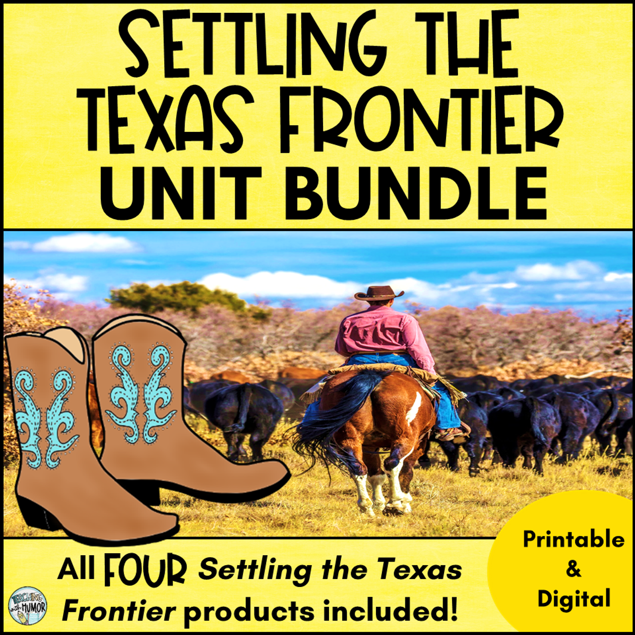 Settling the Texas Frontier ***BUNDLE***