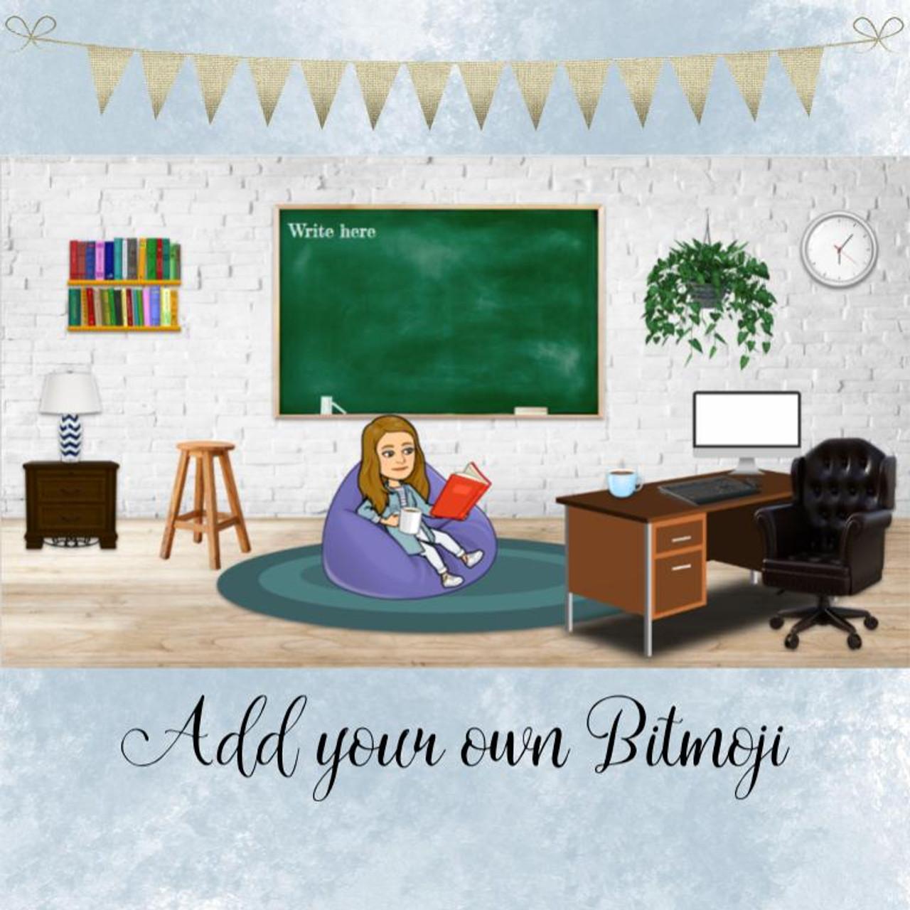 Bitmoji Virtual Classroom Vol. 1