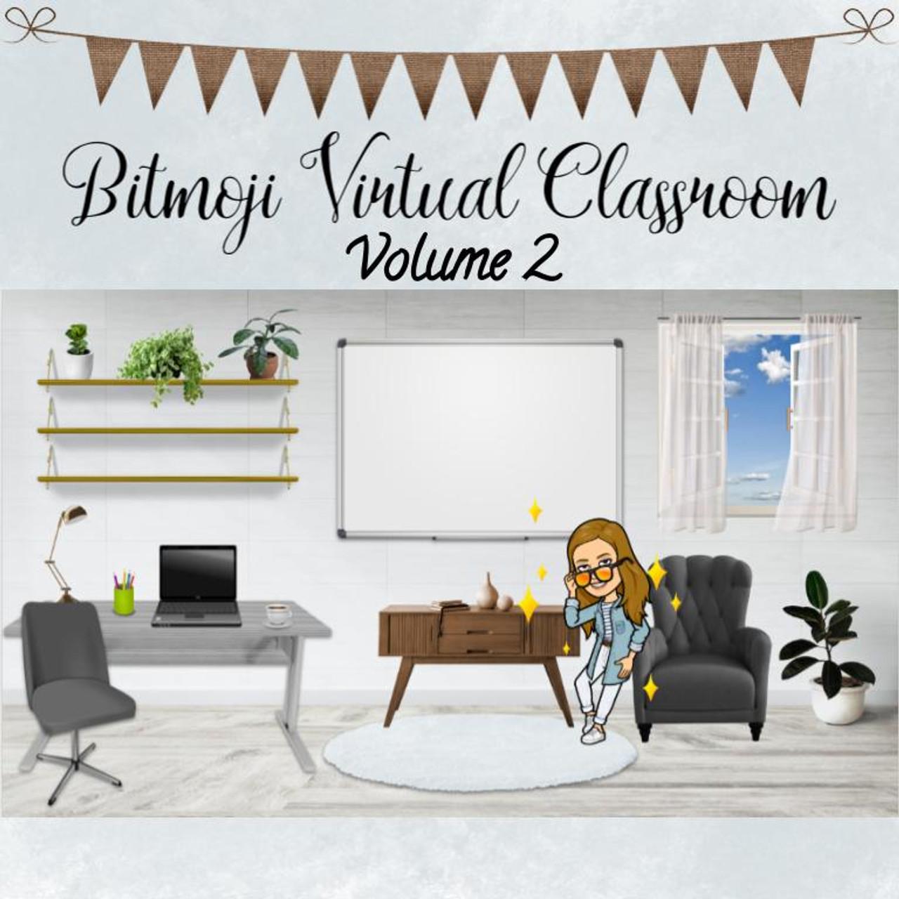 Bitmoji Virtual Classroom Vol. 2