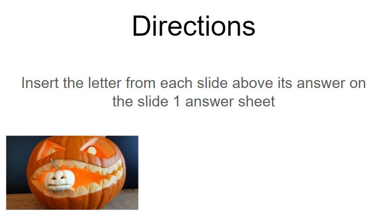 Two-Step Equation Word Problems - Google Slides Riddle - 10 Problems