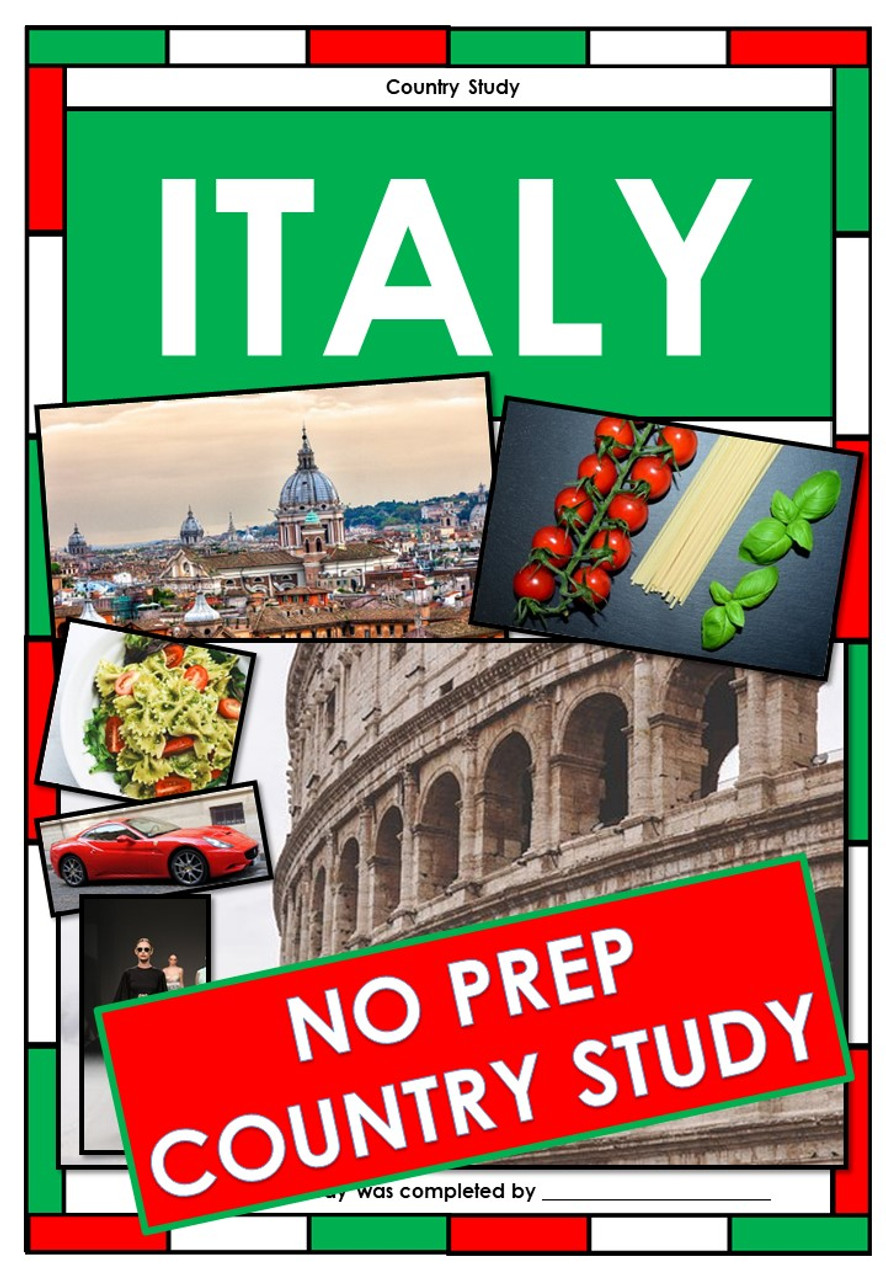 Italy - Country Study / Research Project