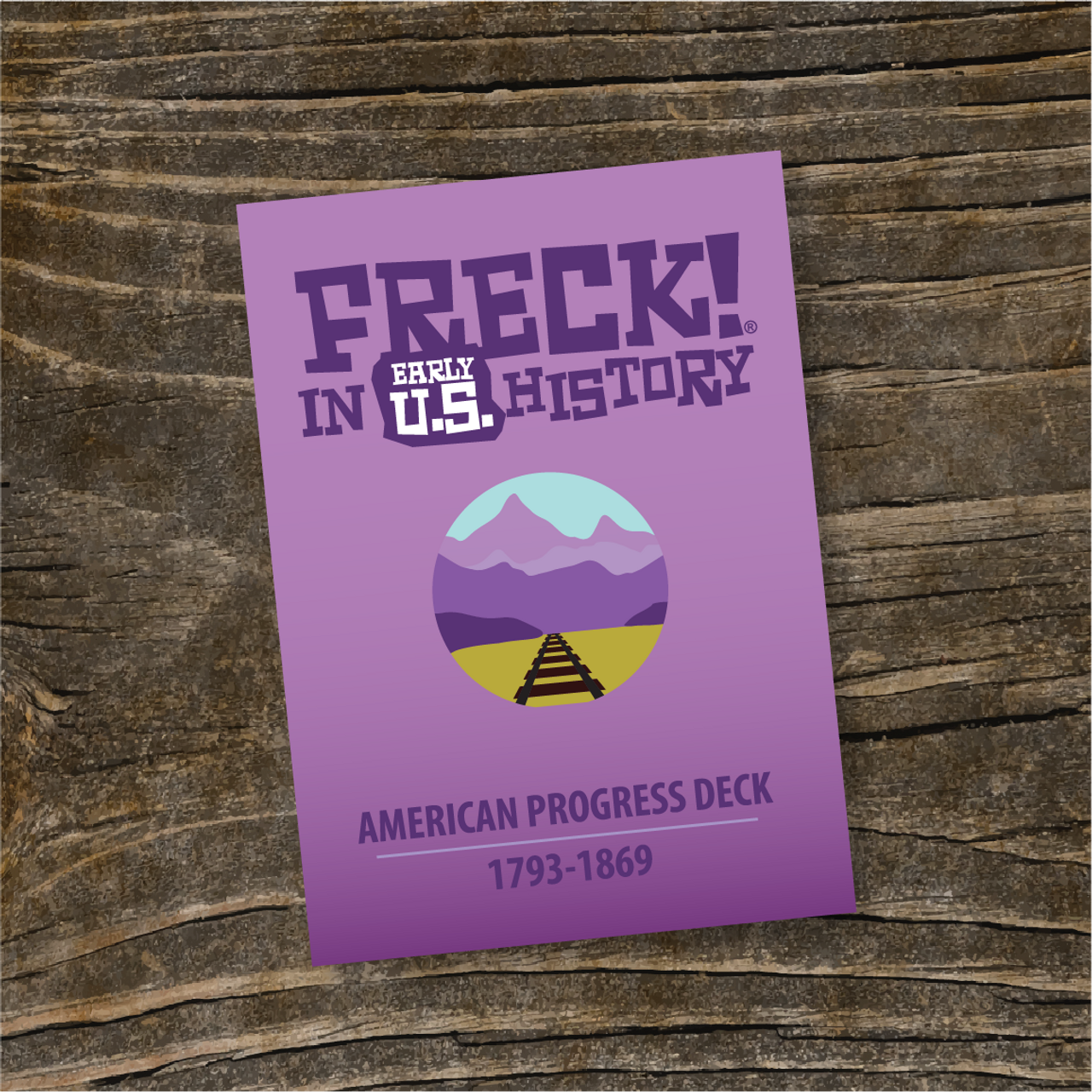 """""""American Progress"""" DECK   FRECK! Early U.S."""