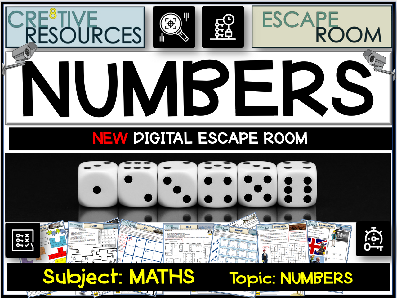 Numbers Maths Escape Room