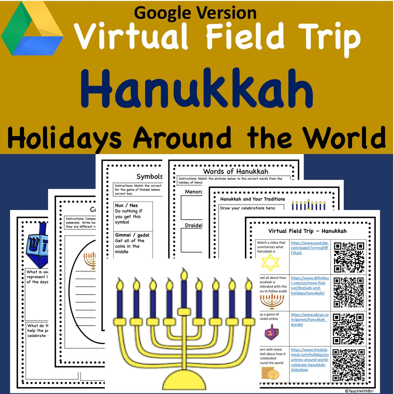 Google Version -  Hanukkah Virtual Field Trip -  Holidays Around the World