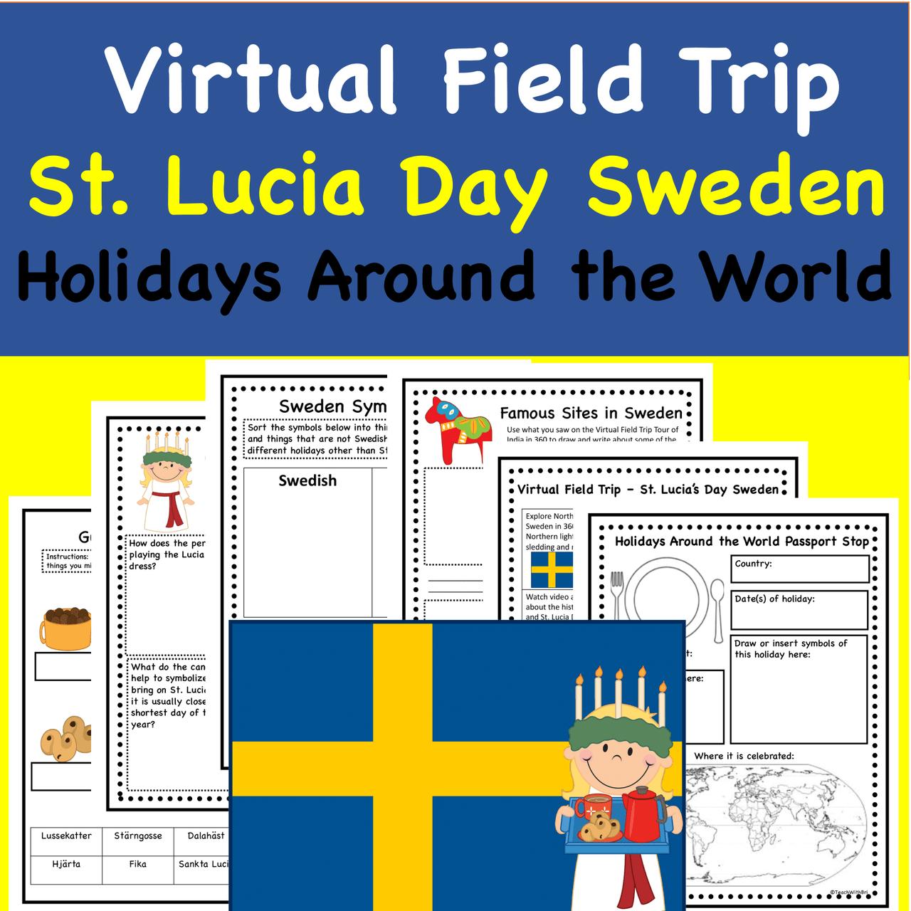 Discount Bundle- Holidays Around the World Virtual Field Trips