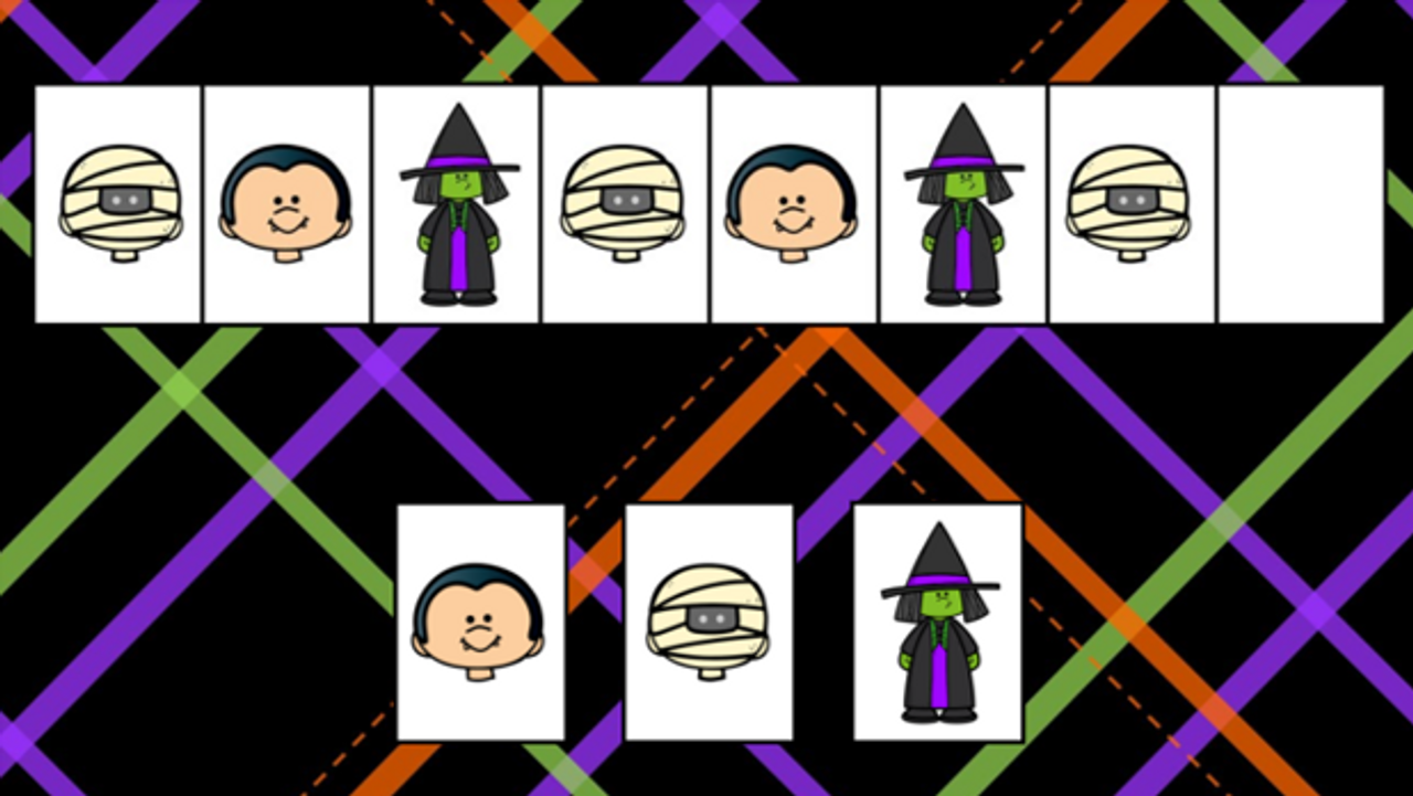 Halloween Patterns Google Slides