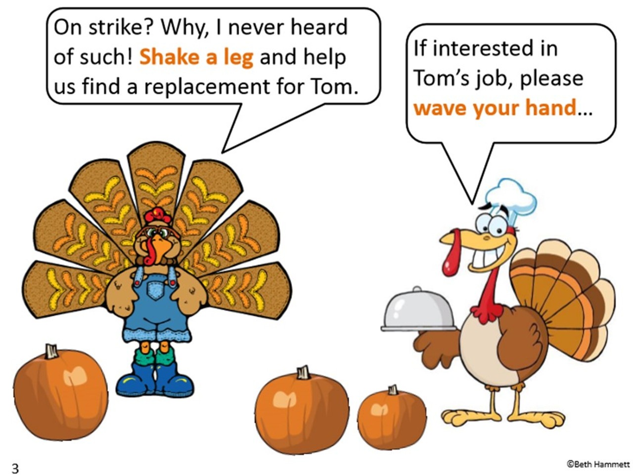 Get Fit Action Story: Tom the Turkey Takes a Break
