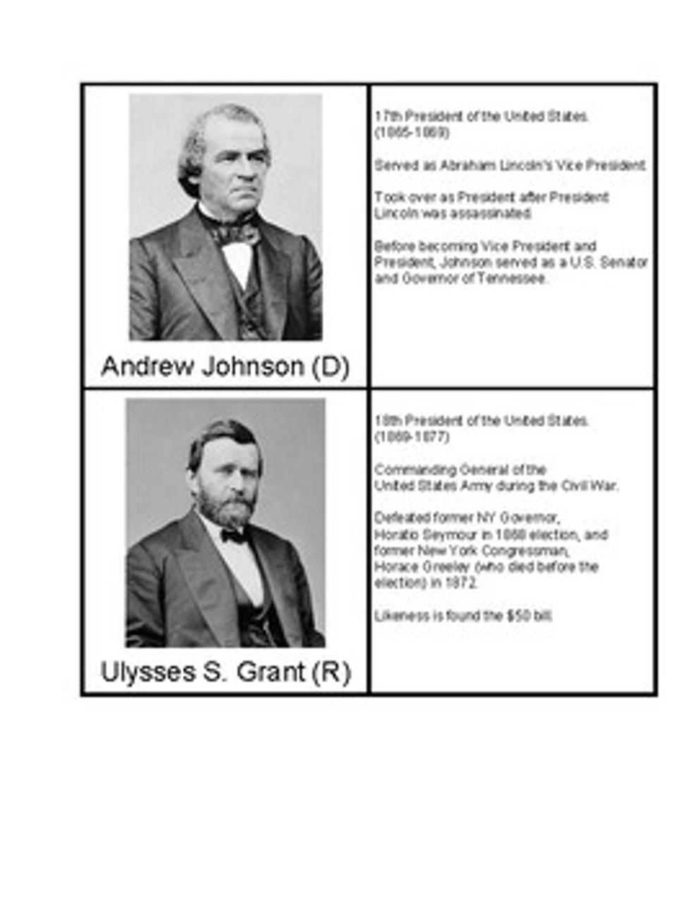 U.S. Presidents 11-20