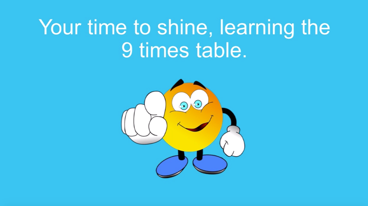 '9 TIMES TABLE' ~ Curriculum Song Video