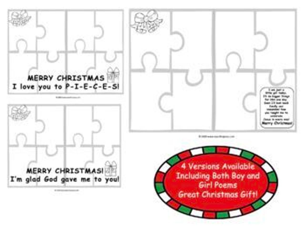Christian Parent Christmas Gift | Christian Christmas Card for Mom and Dad