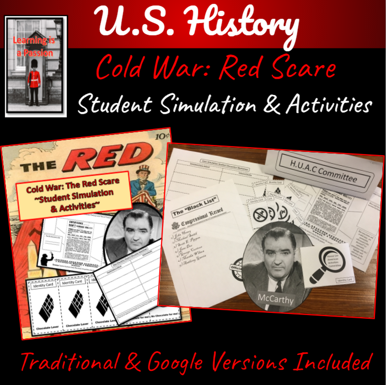 Cold War: Red Scare ~A Student Simulation & Activity~