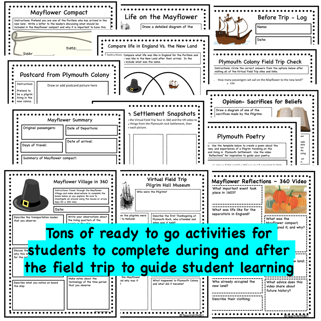 Virtual Field Trip to Plymouth Rock - 1st Thanksgiving History - Mayflower/Pilgrims in 360 and VR
