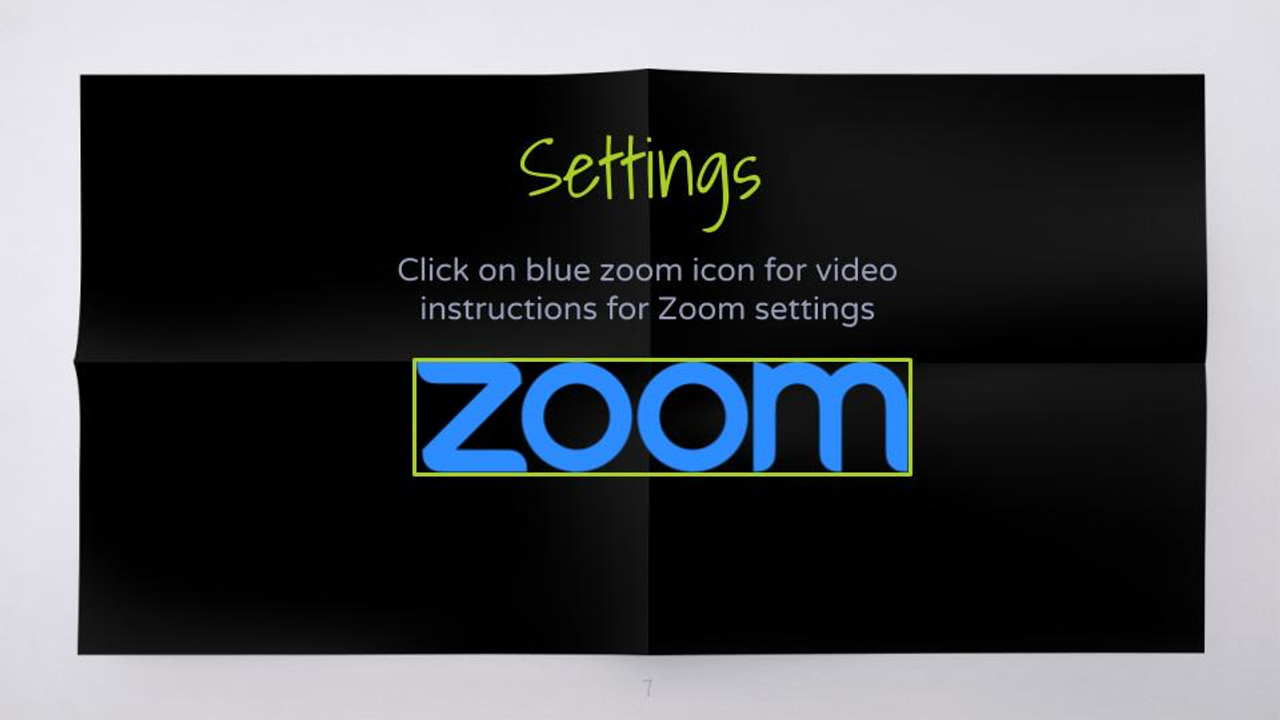 Learn how to do Zoom settings for game. I