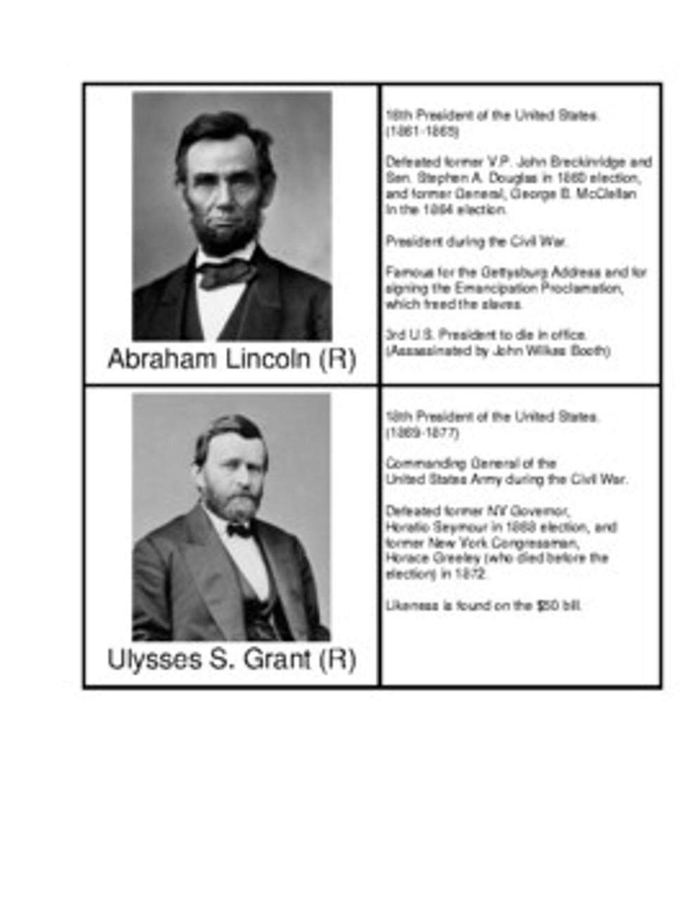 U.S. Presidents from Illinois