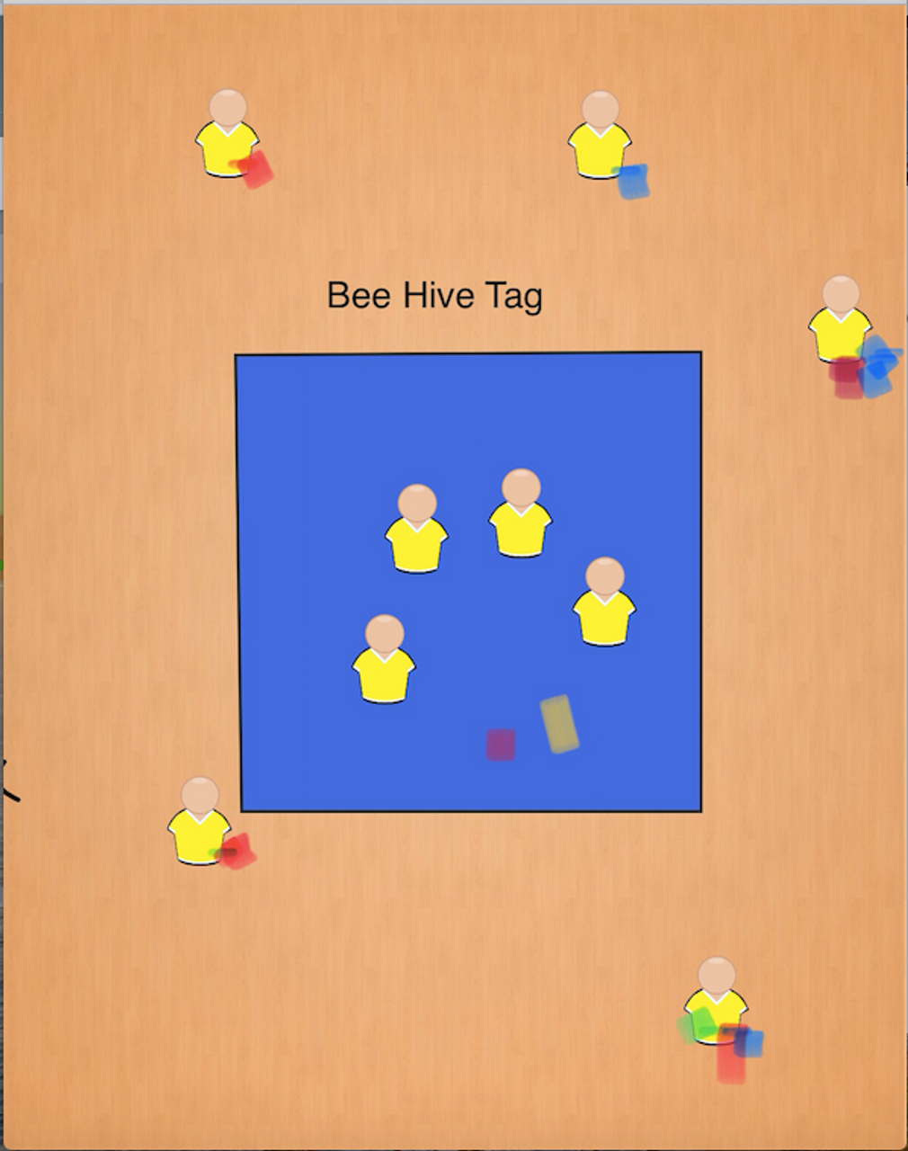 Bee Hive Tag