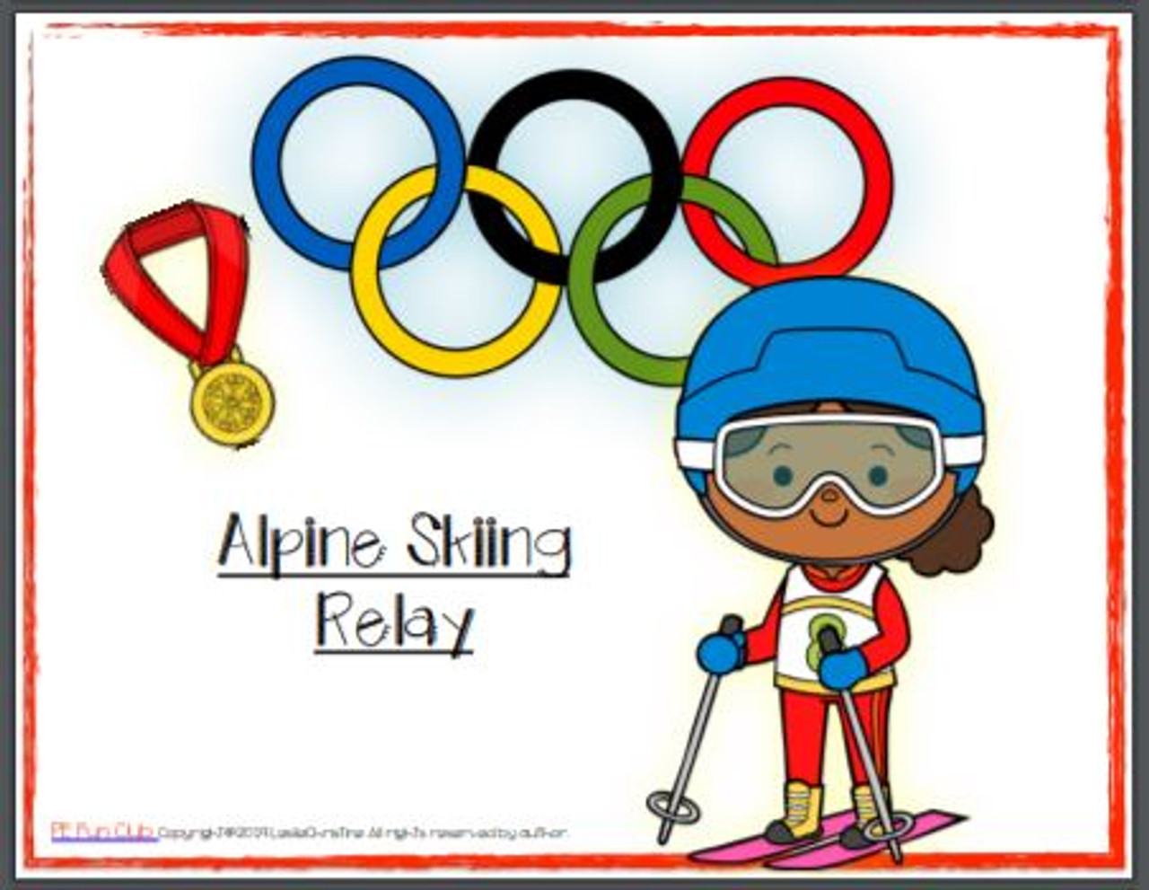 Winter Olympic Learning Activities for PE