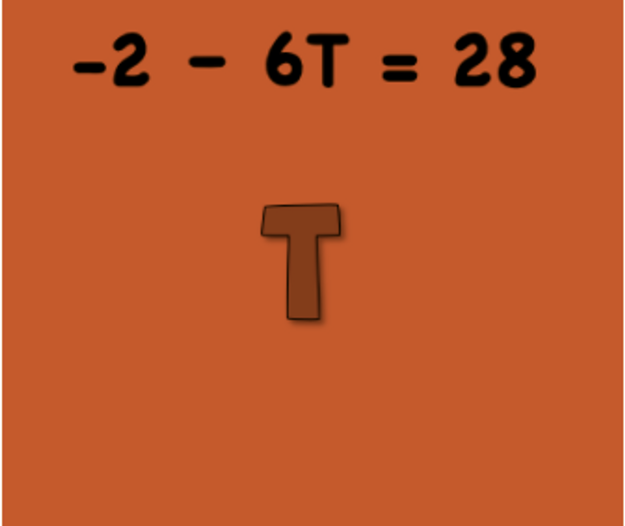 Task 4--one-variable equations
