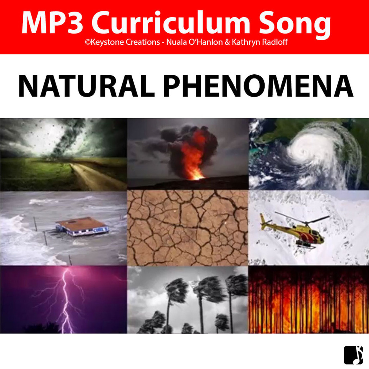 'NATURAL PHENOMENA' ~ Curriculum Song MP3 & Lyrics PDF
