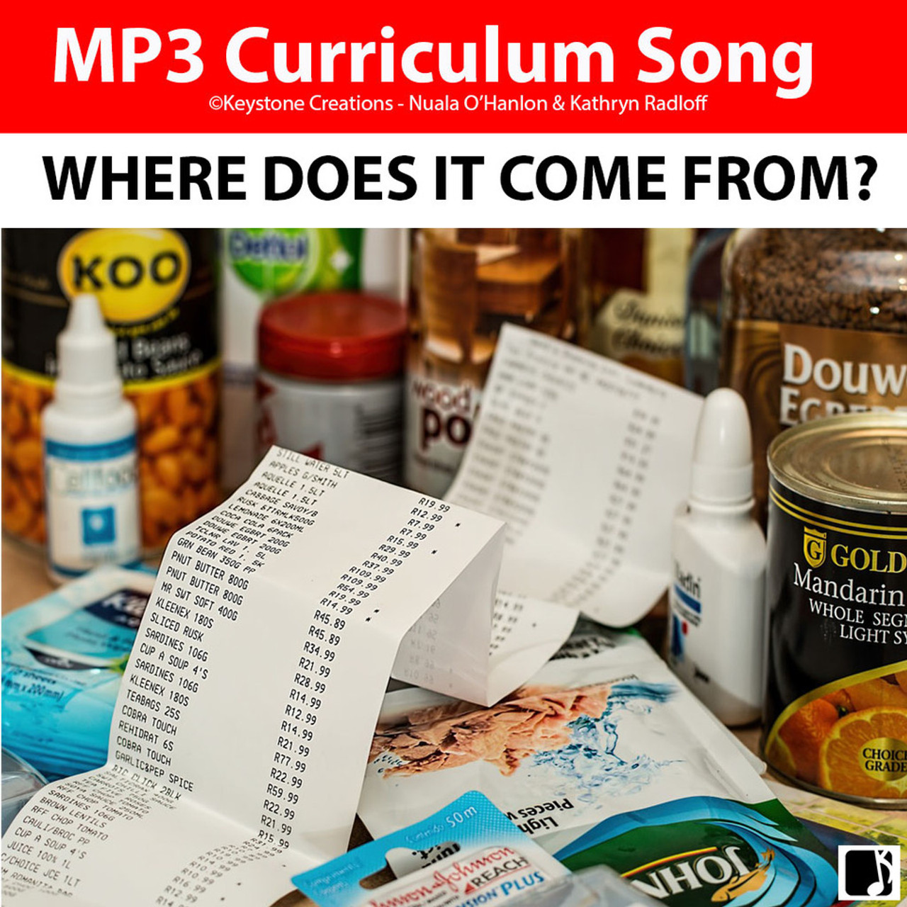 'WHERE DOES IT COME FROM?' ~ Curriculum Song & Lesson Materials