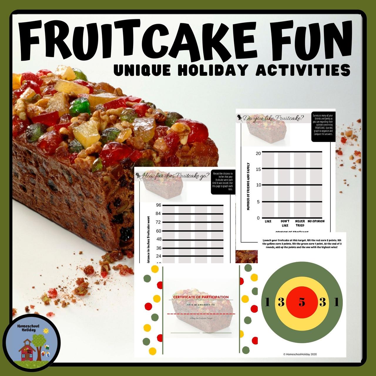 Fruitcake Activities