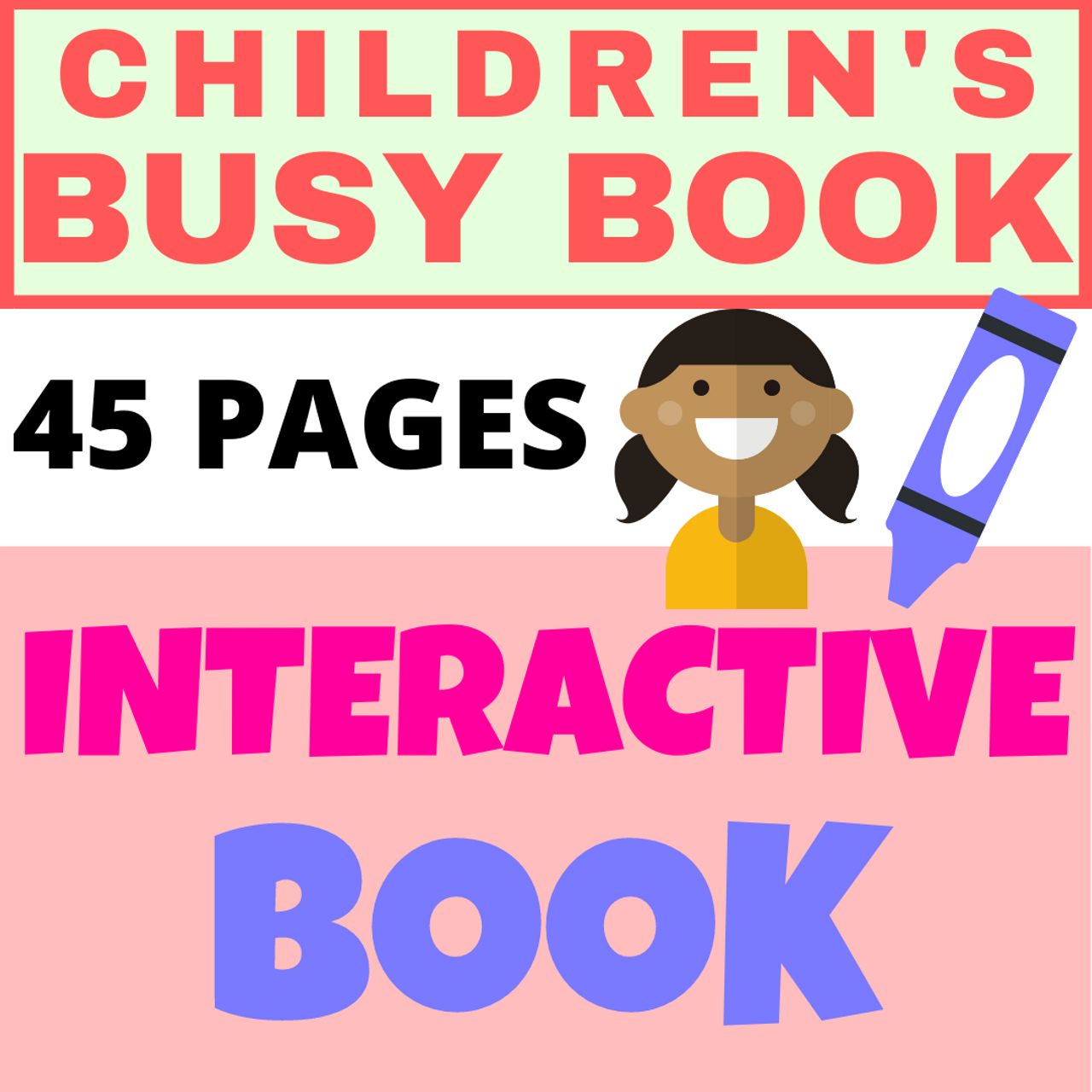 Children's Language-Enriched Busy Book