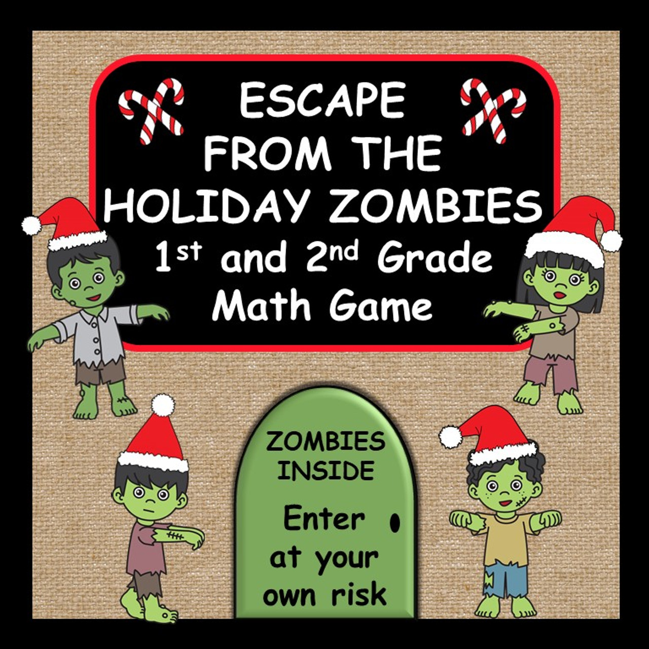 Addition and Subtraction Basic Facts, Odd and Even Numbers - A Holiday Game