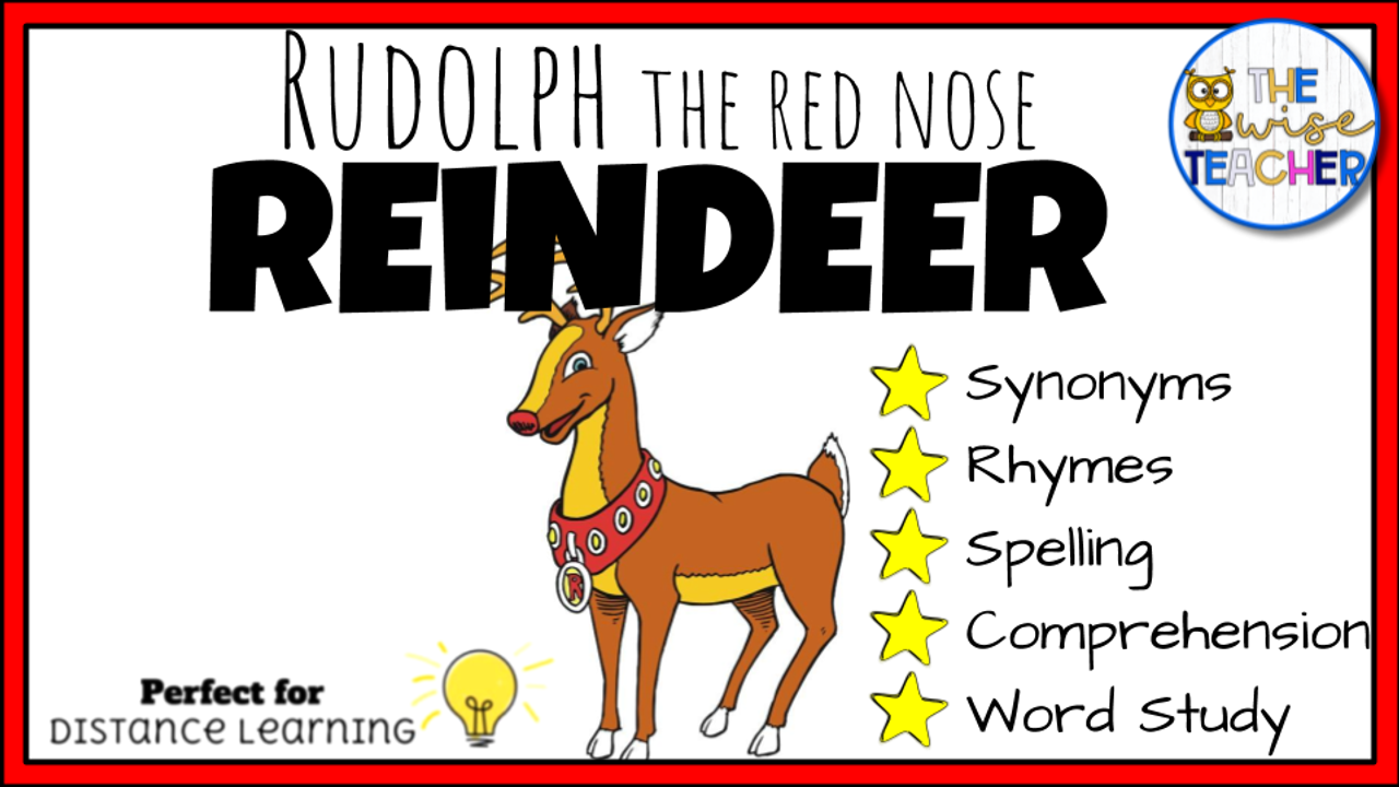 Classic Christmas read aloud Rudolph the Red Nose Reindeer