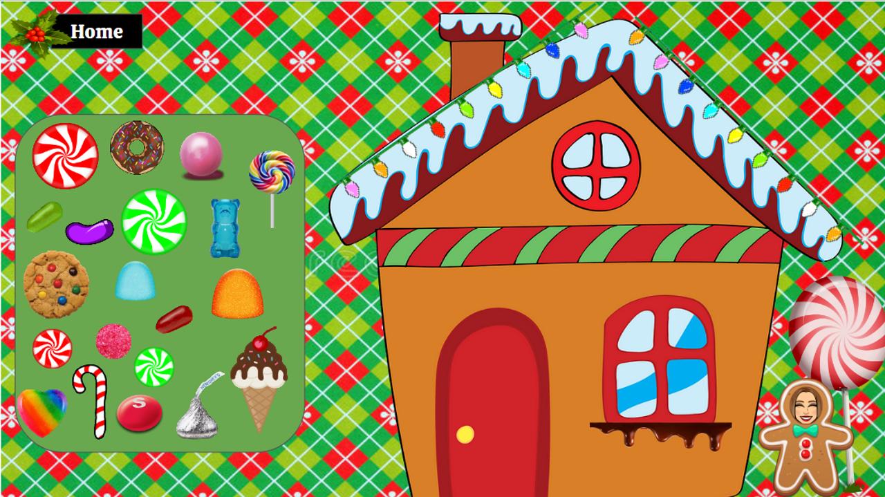 Bitmoji Classroom Template CHRISTMAS ADVENT CALENDAR (1-4)