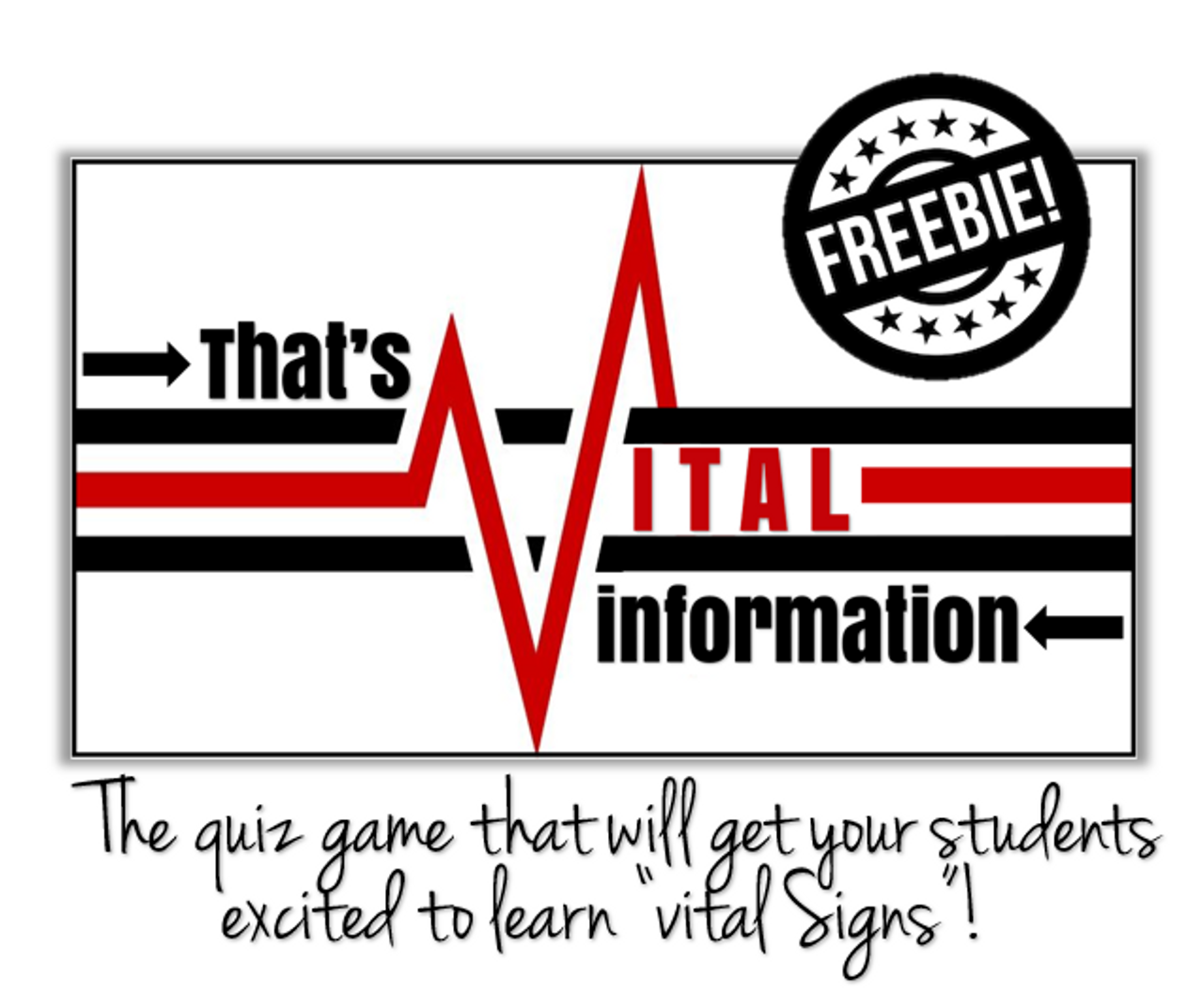 """That's Vital Information"" Quiz Game- FREE!"