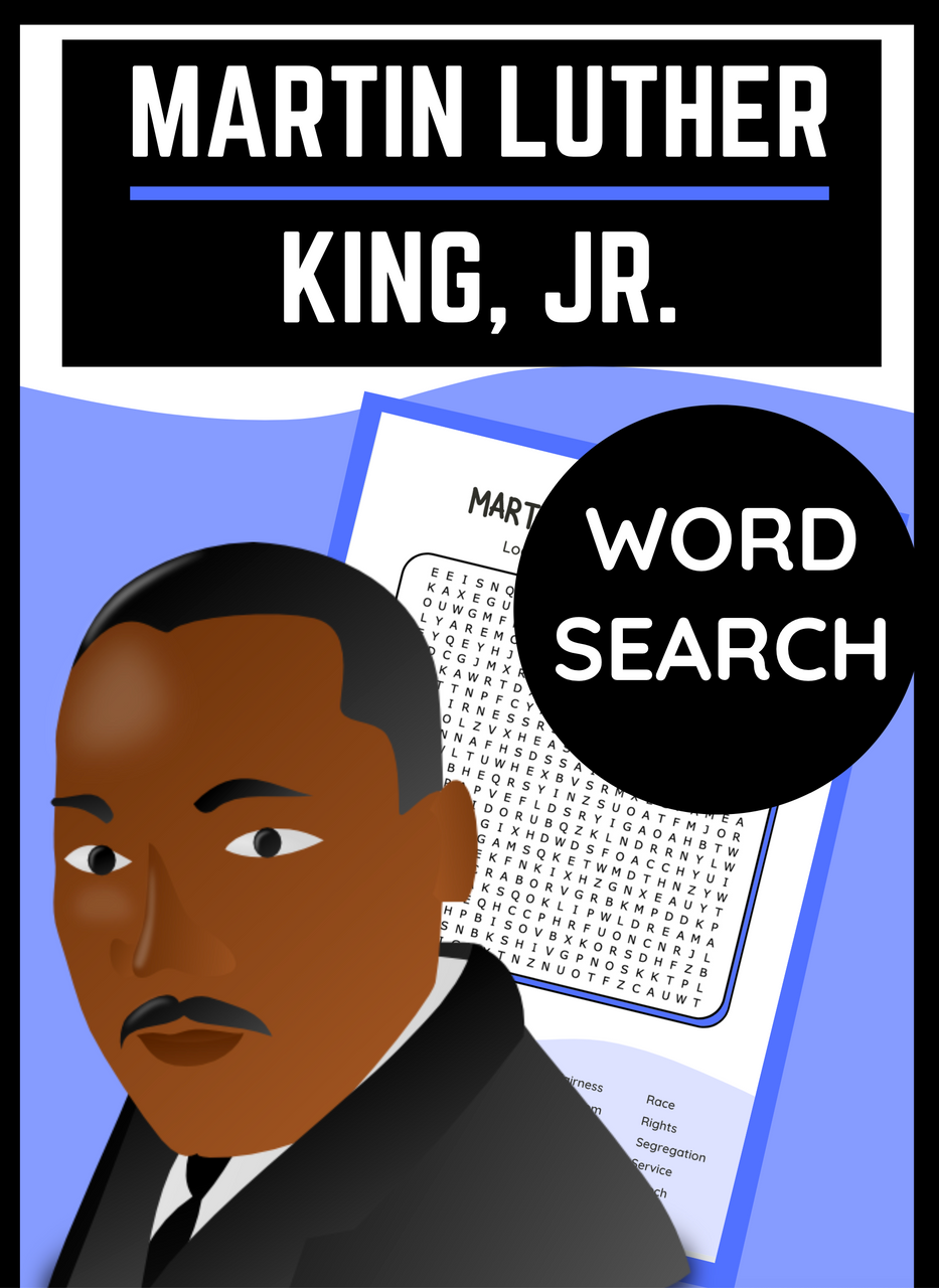 Martin Luther King, Jr. Word Search