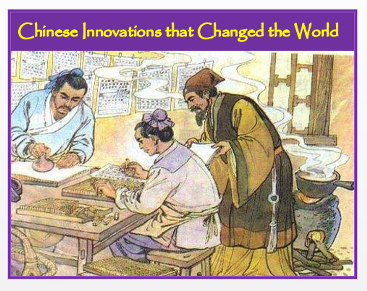 Chinese Innovations that Changed the World + Assessments