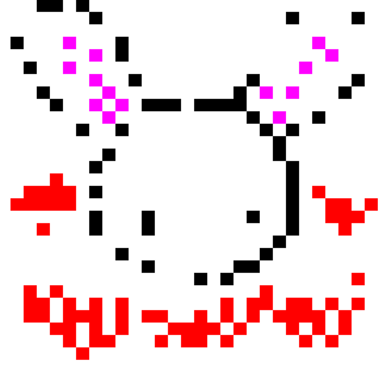 FREE 2 Digit by 2 Digit Multiplication - Bunny - Valentine's Day - Pixel Art Mystery