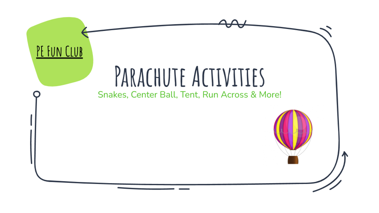 PE Fun Chaos Coordinator - 52 Videos, Activities, Lessons, & Ideas for Pk -1st Grade