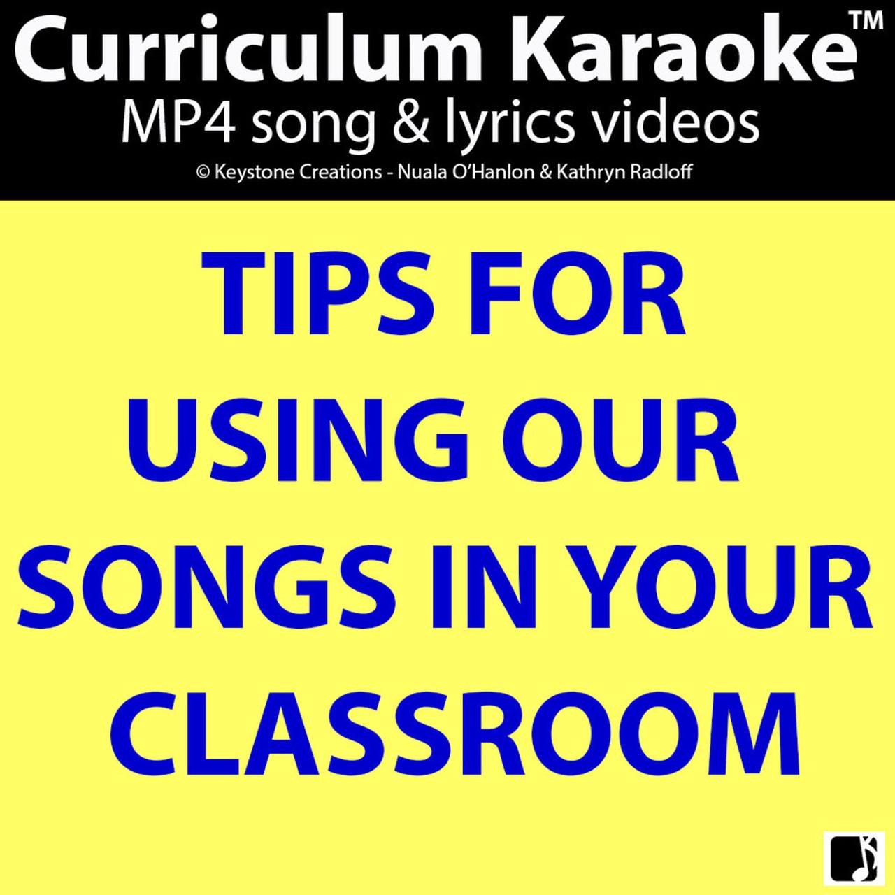 '7 DAYS' (Grades Pre K-3) ~ Curriculum Song MP3 & Lyrics PDF (PLUS Bonus)